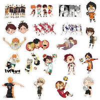 50pcs Haikyuu Volleyball boy Stickers Anime Decal Skateboard Laptop bara