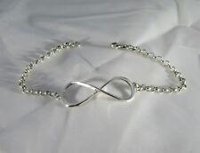 "Sterling silver ""Infinity"" bracelet"