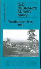 OLD ORDNANCE SURVEY MAP WESTBURY ON TRYM 1912