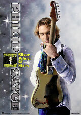 Philip Sayce 2012 Silver Wheel of Stars EP Japan Promo Poster Original