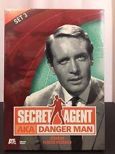 Secret Agent - Set 3 (DVD, 2002, 2-Disc Set) Leading Role:Patrick McGoohan