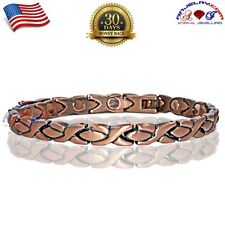 ATTRACTIVE XOXO COPPER MAGNETIC GOLF BRACELET WOMEN ARTHRITIS STRONG MAGNET A123