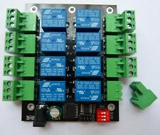 8-channel I2C IIC 24 V Relay Board Pour Raspberry Pi Arduino et UK