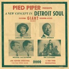Various Artists - Pied Piper Presents a New Concept in Detroit Sound [New CD] UK
