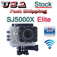 SJCAM SJ5000X Elite 4K 1080P Wifi Helmet Action Camera Waterproof Mini Camcorder