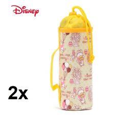 2x Licensed Disney Insulated Bottle Bag Baby Milk Bottle Warmer Drink Cooler New