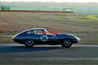 PHOTO  PETER LANFRANCHI'S JAGUAR E-TYPE DRIFTS THROUGH BECKETTS IN THE HSCC CLOS