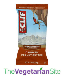 12-PACK Clif Bar Crunchy Peanut Butter - fresh 10/6/2021 - FREE PRIORITY MAIL