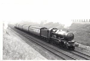 Rail Photo GWR 460 Castle 5080 Haddenham buckinghamshire princes risborough bril