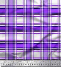 Soimoi Fabric Gingham Check Print Sewing Fabric Meter-CH-40D