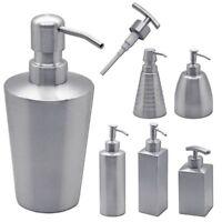 Pumpspender Seifenspender Seife Spülmittel Shampoo Edelstahl Badezimmer Zubehör
