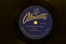 78 Tours RPM OSWALD - LA VIANDE DE CHEVAL / MON CHEVAL ET MON LASSO