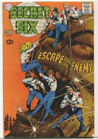 Secret Six #4 Very Good / Fine Escape For The Enemy Silver Age DC Comics 1968 SA