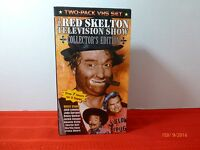 Vintage Red Skelton Collectors Edition Television Show VHS Tapes Volume 1 & 2