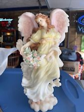 "Seraphim Angel Chloe Nature's Gift 78068 by Roman 12"" Mint 1997"