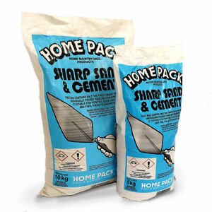 Homepack Ready to Use Sharp Sand & Cement Mix in Easy Manageable Homesized Bags