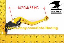 LA-US For Honda CBR300R/GROM/CB500F 2014-2015 CNC Brake Clutch Levers Set Adjust