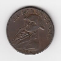 1794 Middlesex Cheapest Booksellers in the World Halfpenny Condor Token D&H #354