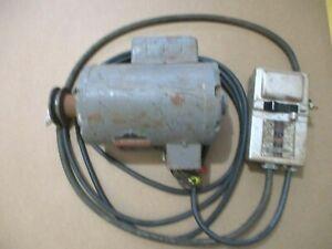 Rockwell 1-1/2 HP  115/230 V Reversible Motor Model 62-494 W/Remote Switch