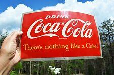 VINTAGE 1950's COCA COLA SODA BARREL SIGN COLLECTABLE NEAR MINT SUPER PIECE!