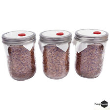 RYE Jars Organic Rye Berry Mushroom Substrate Sterilized -Free of Contamination