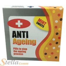 Anti Ageing Mints Novelty Joke Pill Box Sweets Secret Santa Stocking Filler Gift