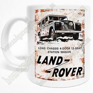 300ml COFFEE MUG - LAND ROVER 12 SEAT STATION WAGON