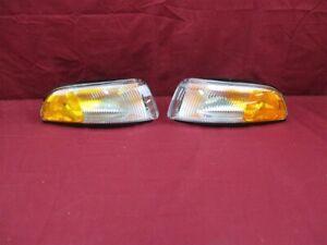 NOS OEM Eagle Vision, Chrysler Concorde Park Lamp Turn Signal 1996 - 97 PAIR