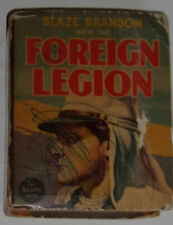 Blaze Brandon With The Foreign Legion 1938 Better Little Book Great Illus SEE!