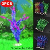dekoration aquarium aquarium dekor künstliche pflanzen wasser, gras plastik