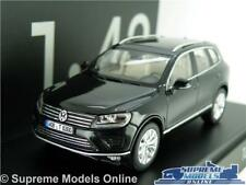 VOLKSWAGEN VW TOUAREG MODEL CAR 1:43 SCALE BLACK HERPA SPECIAL ISSUE K8