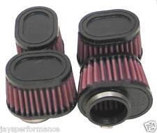 """Kn Universal Filtro de aire (RU-1824) 2""""FLG o/s, 3 X 4"""", 2-3/4""""H, ovalados (4 Por Caja)"""