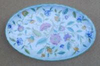 MINTON Haddon Hall (Green Edge) Oval Tray