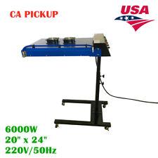 Ca Pickup 20 X 24 6000w Screen Printing Automatic Ir Flash Dryer 220v
