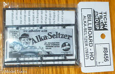 Tichy Train Group #8456 Alka Seltzer (1937) Sign (Billboard HO Scale)