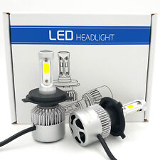 H4 9003 1020W 153000LM CREE LED Conversion Headlight KIT Hi/Low Beam 6000K White