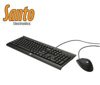 HP C2500 Desktop Keyboard and Mouse Combo