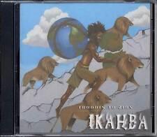 Ikahba 'Troddin To Zion' CD Afrikan Roots Lab (2004) Roots Reggae Brand New Rare