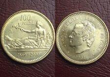 100 Pesetas 2001 Juan Carlos I Lis Arriba S/C Spain España Leeer!!!
