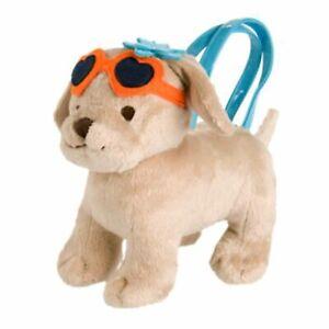 Gymboree Girl Beach Puppy Plush Purse Tropical-Bloom NWT Yellow Lab Labrador Dog