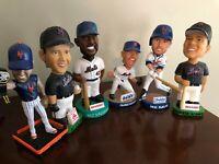 NY Mets SGA Bobble Head Lot of 6 - Leiter,Vaughn,Alomar, KRod,Davis,Frazier
