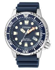 Citizen Herrenuhr BN0151-17L Promaster Marine Taucheruhr ECO-DRIVE blau
