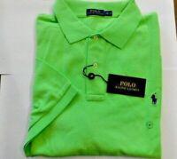 NWT Polo Ralph Lauren FLORIDA GREEN Mesh Knit Short Sleeve Polo Sz 2XLT Big&Tall