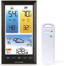 AcuRite 01201M Vertical Wireless Color Weather Station with Indoor/Outdoor 12 x