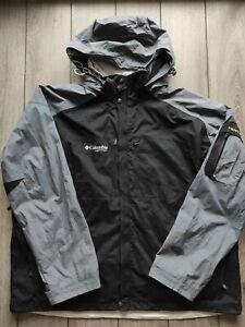 Men's Columbia Vertex Hooded Waterproof Outdoor Hiking Jacket Size XXL