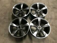 """20"""" TTRS ROTOR Style Alloy Wheels DEEP CONCAVE Satin Gun Metal Audi A5 A7 S5 RS5"""