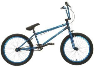 "MONGOOSER90 Scan Series BMX BIKE RARE 20"" Wheels Metallic Blue Free UK Delivery"