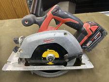 Milwaukee (2630-20) - M18 18V 6.5inch Cordless Circular Saw w/ 5Ah Battery Pack