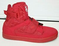 Vlado Footwear Atlas II IG-1500-5R Red High Top Sneakers Mens Shoes Size 8.5