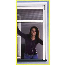 Insektenschutz Rollo 100x160cm Braun Fliegengitter Fenster Netz Rhino Screen